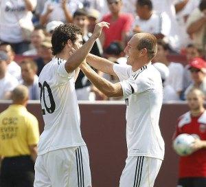 Robben e Higuaín
