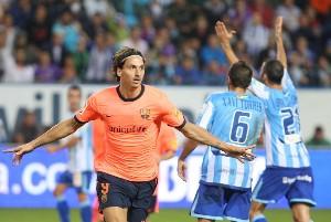Málaga 0-2 Barcelona