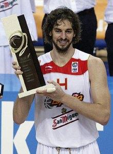 Pau Gasol MVP
